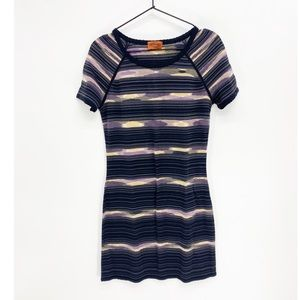 Missoni Wool short sleeve dress